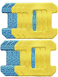 Fayme Reiben Von Mopp Kissen für Hobot 298 Fenster Reinigung Roboter Roboter ZubehhR Rag Premium Mikrofaser Material Nass Reinigung + Trocken