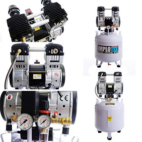 IMPLOTEX 1500W 2PS Flüsterkompressor 50l - 5