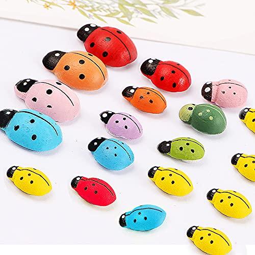 JZLMF Pegatinas pequeñas de escarabajo para pegar pegatinas para nevera, regalos creativos y pequeños.