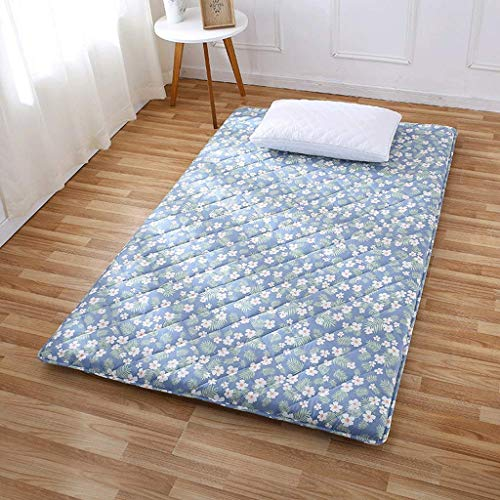 GONGFF Tatami Mattress Folding Thickened Student Dormitory Floor Mat Double Bedroom Mat (Color : A, Size : 100x200cm)
