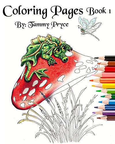 Fantasy Art Coloring Pages Book 1 With Dragons, Mermaids & Fairies Adult Coloring  Pages- Buy Online In Morocco At Desertcart.ma. ProductId : 21220993.