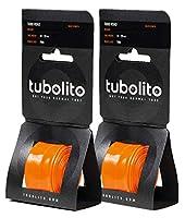 Tubolito(チューボリート) 【正規品】Tubo Road (チューボロード) 700×18~28c ETRTO(18/28-622) 仏式バルブ 超軽量インナーチューブ 各種 (仏式バルブ42mm(2本セット))