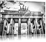 Pixxprint Monocrome, Brandenburger Tor Berlin Deutschland