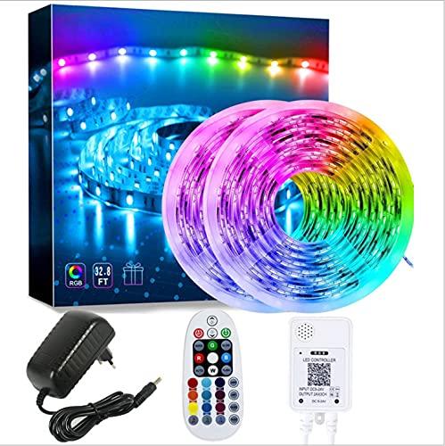 Symphony Rgbic Light With Set Led Color 24V Light Strip Bluetooth Application Control 28 Key Remote...