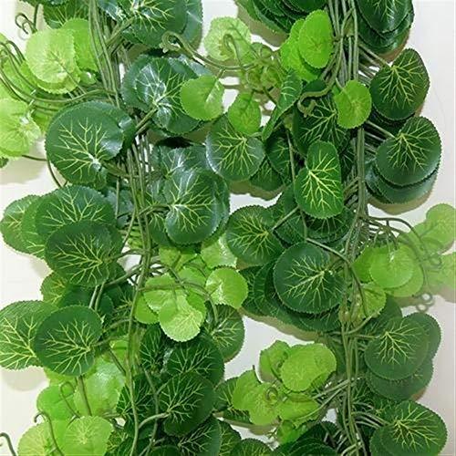 SSSSY 2,2 m lange kunstmatige planten groene klimopblaadjes kunstmatige wijnstok vervalste parthenocissus bladblaadjes huwelijksbar hangplanten