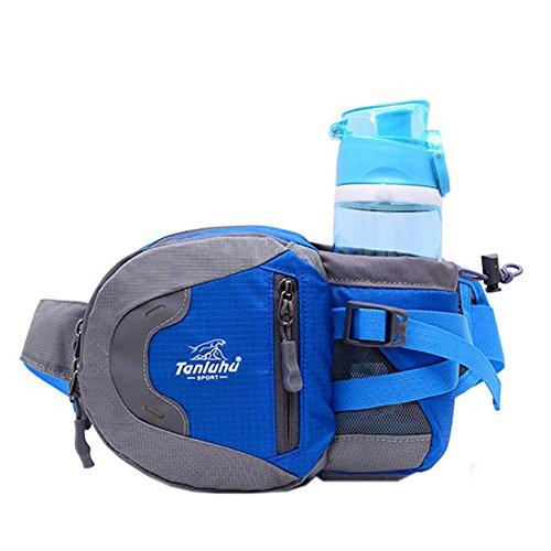 Tendance fonctionnelle d'extérieur Taille Pack, unisexe, Bleu (27 * * * * * * * * 19 * * * * * * * * 8 cm)