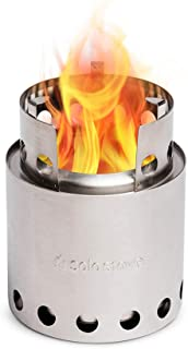 Solo Stove Lite - Portable Camping Hiking and Survival Stove   Powerful Efficient Wood Burning and Low Smoke   Gassificati...