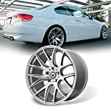 For 1PC NEW 19'x9.5' 5x120mm Silver Alloy Car Wheel/Rim for BMW 3/5-Series 19-9.5 5-120