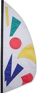 Premier Kites 23262 Wind Garden Ripstop Nylon Feather Banner, Rainbow Jazz, 3-1/2-Feet