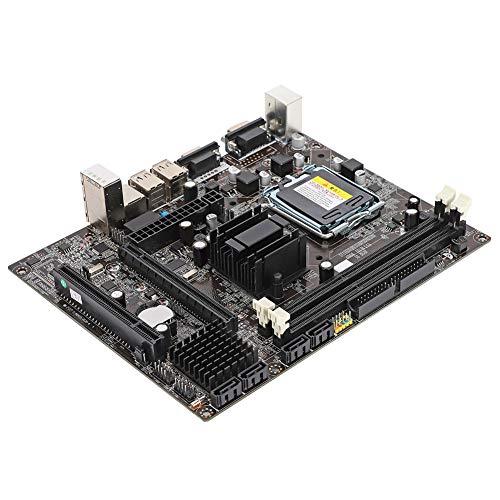 LGA775 Motherboard, DDR3 1066 / 1333MHz Computer Desktop Mainboard Integrierte Chipgrafik/Soundkarte/Netzwerkkarte Geeignet für Intel G41