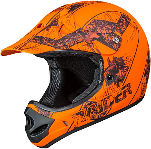 Raider 24-630MO-17 Ambush Mossy Oak Unisex-Adult MX Off-Road Helmet (Break-Up Infinity Camo, XX-Large)