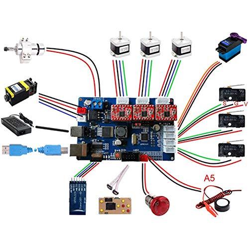 QPX GRBL Triaxiale Steuerplatine + GRBL Offline Controller LCD Bildschirm