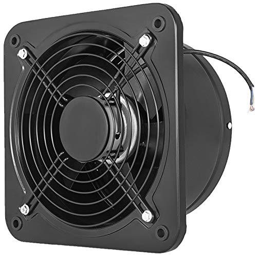 Extractor de Aire, 250 mm Extractor de Baño de Metal Completo, 2.580 RPM Extracción de Aire con Volumen de Aire 1.680 m³ / h, Ventilador de Escape 60 dBA para Cocina Baño