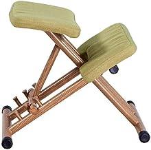 ZNBJJWCP Ergonomical Designed Kneeling Chair Stool Handle Height Adjust Office Knee Ergonomic Correct Posture (Color : A)