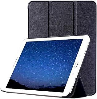 جراب تابلت YPshell من أجل Custer Texture محفظة جلد الوجه أفقياً مع حامل 3 طي لجهاز Galaxy Tab S2 9.7 / T815