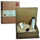 Golddachs Bartpflege Set in Geschenkbox Geschenkset Bartset Grundpreis Shampoo: 100 ml 20 Euro, Grundpreis Öl: 100 ml 150 Euro