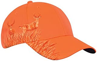 Tirrinia Unisex Blaze Orange Hunting Basics Cap Low...