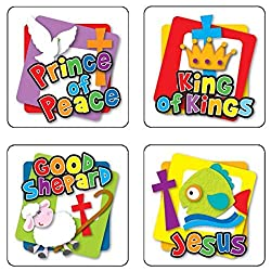 """Names of God"" Stickers - Great for Children's Ministry and Sunday School"