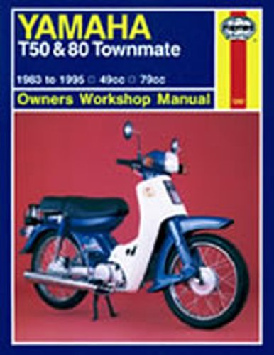Price comparison product image Haynes Manual 1247 YAM T50 & 80 TOWNMATE 83-95