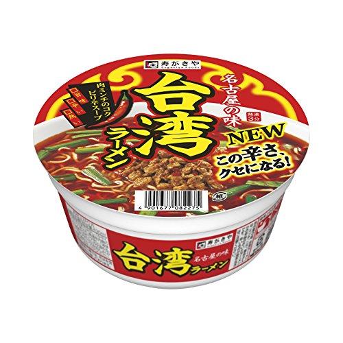 寿がきや カップ 台湾ラーメン 97g×12個