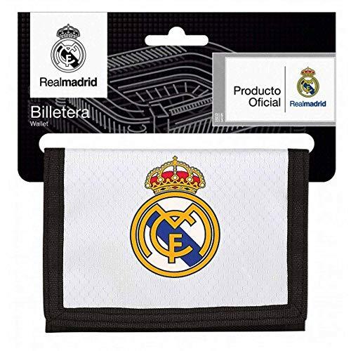 Real Madrid officiële (La Liga) Crest geld portemonnee met klittenband