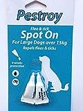<span class='highlight'>Pestroy</span> Bob Martin FLEA DROPS LARGE DOG 15kg x 3 MONTH SUPPLY