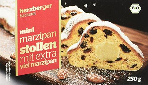 herzberger Mini Marzipan Stollen, 10er Pack (10 x 250 g)