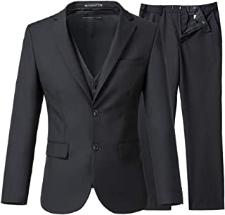 Slim Fit Wedding Suits 3 Pieces Men Suits Groom Tuxedos 2 Buttons