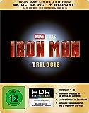 Iron Man-Trilogie Steelbook (4K UHD Blu-ray)