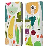 Official Haroulita Veggie Love Plants Leather Book Wallet