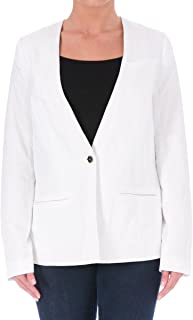 Elizabeth & James Women's White Athena One Button Blazer Jacket SZ 0 New