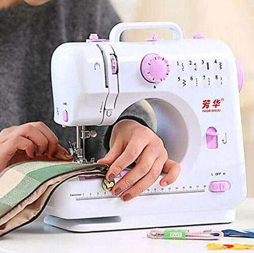 Why Should You Buy HAOLAIWU Multifunction Electric Overlock Sewing Machine Household Sewing Tool 8 S...