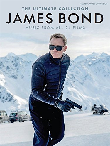 The Ultimate Collection James Bond filmboek voor piano, gitaar en stem.