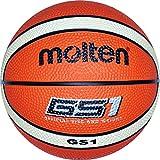 MOLTEN balón de Baloncesto, Todo el año, Color Naranja - Orange/Ivory, tamaño 7