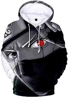 HENIANG Hoodie 3D Printing Anime Hoodies Men and Women Pullovers Sweatshirts Naruto 3D Hoodies Tops Plus Size