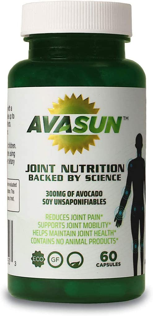 New color AvaSun Joint Nutrition Backed by Science Soy Unsaponif Avocado OFFer