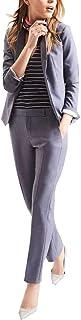 セットスーツ レディース パンツ カジュアル オフィス ストレッチ 通勤 日常使え 大きいサイズ