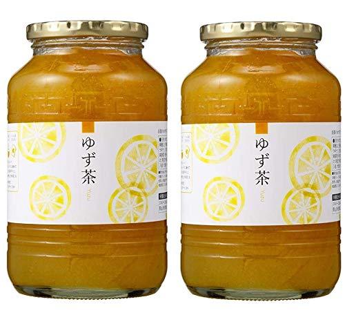 ゆず茶 1kg 韓国 はちみつ ゆず茶 詰め合わせ セット 【 ゆず茶 1kg 2本 】 デサンジャパン