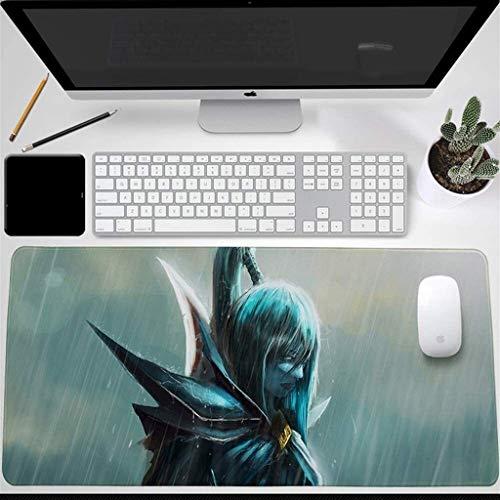 CFTGB Dota 2 Juegos de ratón Almohadilla Grande Alfombrilla de ratón Juego Keyboard Mat de la colchoneta colchoneta extendida Mousepad para computadoras de Escritorio Alfombrilla de ratón
