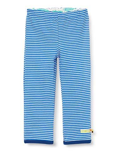 Loud + Proud Reversible Pant Organic Cotton Pantalon, Bleu (Cobalt COB), 62/68 Bébé garçon