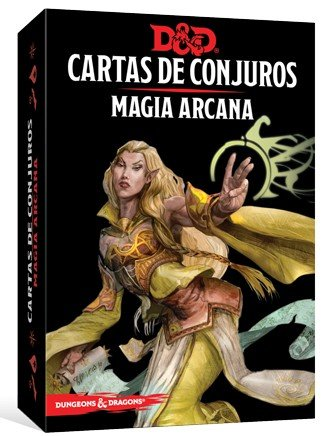 Dungeons & Dragons Magia Arcana-Cartas de Conjuros-Castellano, Color (Edge Entertainment EEWCDD80)