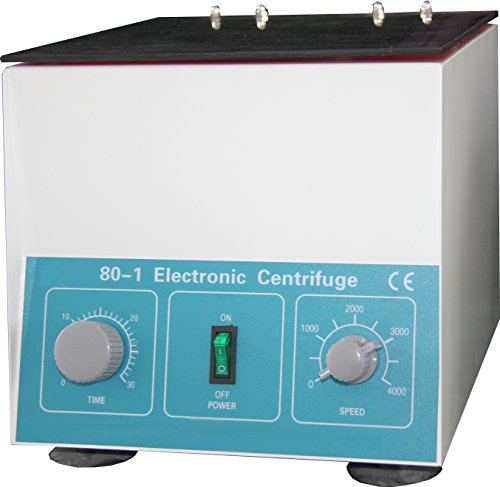 HFS (R) Desktop Electric Centrifuge Lab (Timer 0-30min) Speed: 0-4000 RPM, Cap:20ml X 6 Tube (80-1) 110v/60hz