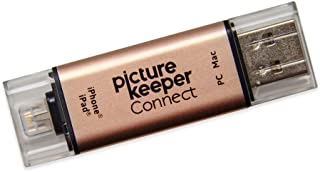 Picture Keeper Connect 16GB Portable Flash USB Backup and Storage Device Drive for Mobile Phones Tablets and Computers (Ro...