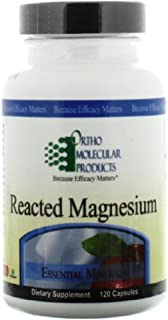 Ortho Molecular - Reacted Magnesium- 120 Capsules