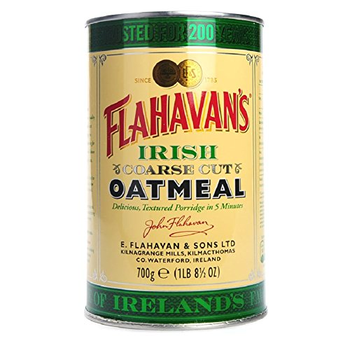 Flahavans Coarse Cut Oatmeal, 700g irische Haferflocken in Blechdose