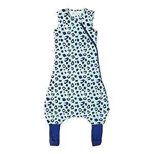 Tommee Tippee Pijama Grobag Steepee, 6-18 m, 1.0 tog, leopardo azul