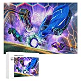 254 Rocket-League Challenging Puzzles for Adults Kids, Large Puzzle Game 300 Pieces Jigsaw Puzzle Toy for Educational Gift Home Decor