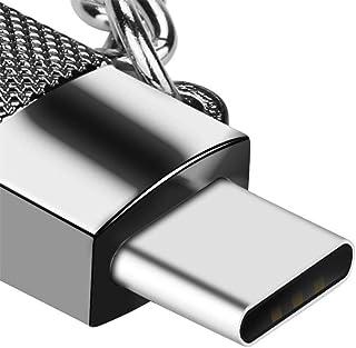 محول USB صغير إلى USB C، محول USB نوع C محول تحويل الموصل مع مقاومة 56K ، شحن سريع لسامسونج جالاكسي S10 S9 S8 بلس نوت 9 8،...