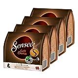 Senseo Caffe Crema, cápsulas de café, aromáticas y Totalmente sólidas, café Tostado, café, 64 cápsulas