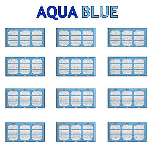 AQUA BLUE 12 Cat Mate & Dog Mate Fountains Replacement Water Filter Cartridges